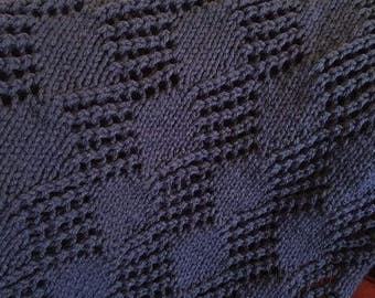 luxurious hand knitted throws and blankets