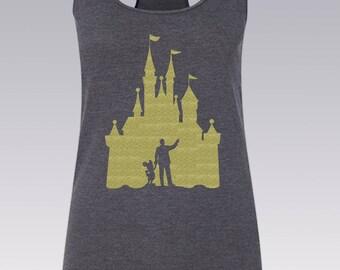 Disney Shirt / Walt Disney Mickey Mouse Disney Tank Top / Disney Shirts / Tank Top / Disney World Shirt / Disney Princess / Disney Vacation