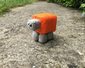 Meep Sheep, the mascot for Minecraft and Meltdowns Autism support group.