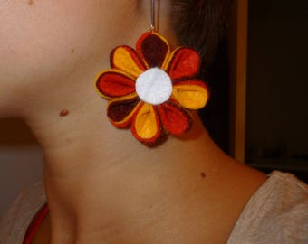 Earring flower