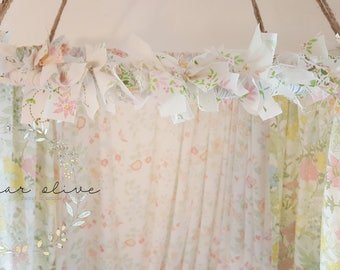 Pastel Floral Canopy