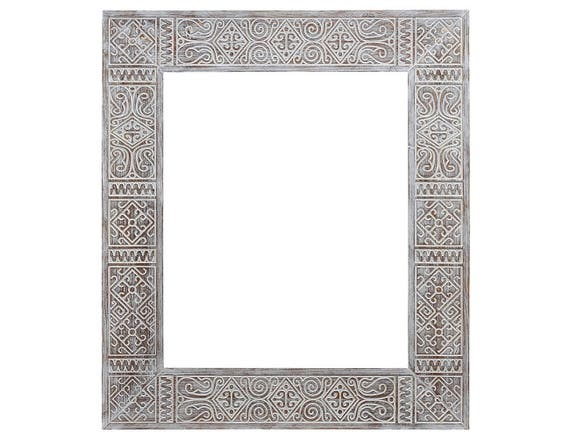 Cadre ethnique miroir 50 x 60 miroir de maroc miroir for Miroir ethnique