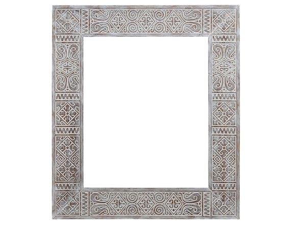 cadre ethnique miroir 50 x 60 miroir de maroc miroir. Black Bedroom Furniture Sets. Home Design Ideas