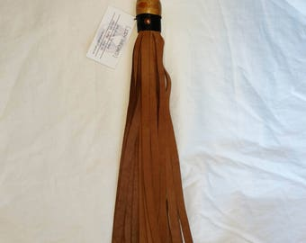 Nubuck leather flogger