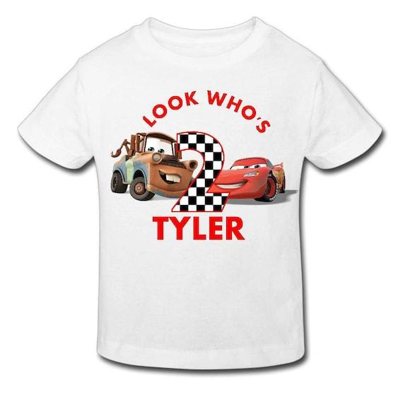 Disney Cars Birthday Shirt Personalized Birthday T