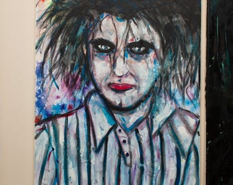 The Cure Watercolor Painting