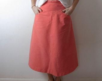 Pink 'A' Skirt