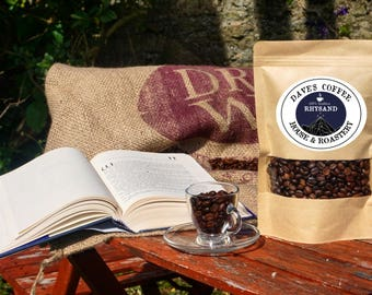 Rhysand Coffee, Artisan Coffee, Freshly Roasted Coffee, ACOTAR ACOMAF, Italian Coffee, Italian Espresso Bean, Whole bean and Espresso Ground