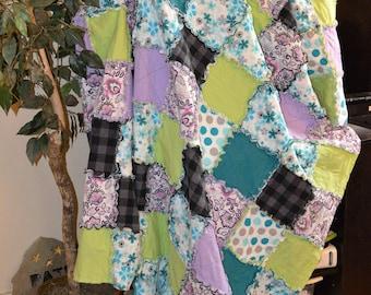 Handmade Rag Quilt
