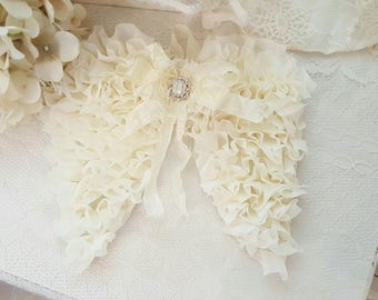 Lace Angel Wings - Emily