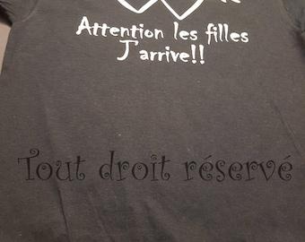 Shirt - Warning, girls coming!