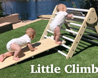 Little Climber | Starter Set | Includes Climber, Reversible Accessory, and Board Book