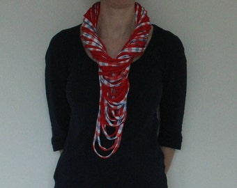 t-shirt yarn scarf/necklace