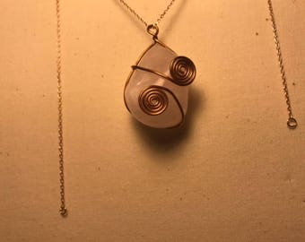 Copper Wrapped Rose Quartz