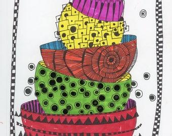 Stackable - Original Artwork