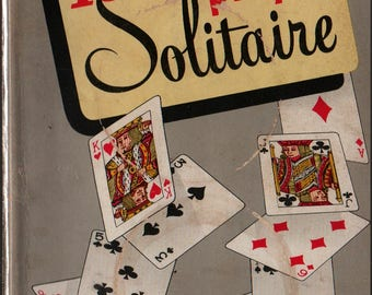 150 Ways to Play Solitaire + Alphonse Moyse Jr. + 1950 + Vintage Reference Book