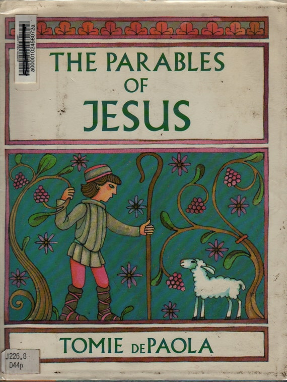 The Parables of Jesus – First Edition - Tomie DePaola - 1987 - Vintage Kids Book