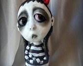 Loopy Gothic Art Doll Lowbrow Dark Goth Danny