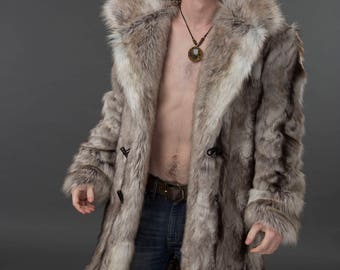 Regal MEN'S Faux FUR COAT
