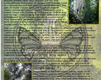 ANCIENT KAURI Tree MAGIC Properties, BoS Instant Download Page, WaND, Bark Scrolls, Book of Secrets, Glamerie Pages