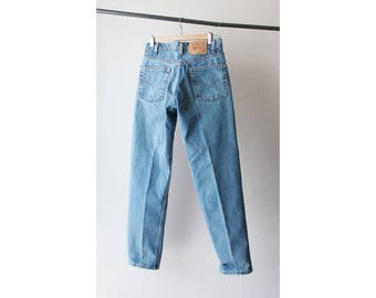 1990s Levi's 550 High Waist Tapered Jeans