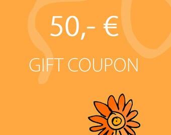 Melanie Moertel Lampwork Beads // Personalized Gift Coupon // Lampwork Beads // 50,- EURO