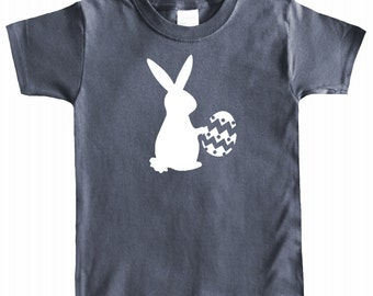 Easter Graphic Baby Short Sleeve T-shirt- Easter Bunny Delivery