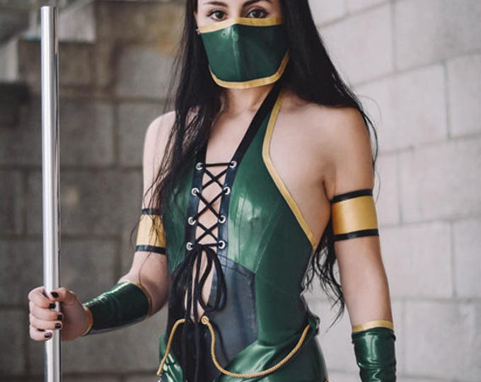 Featured listing image: Latex Mortal Kombat Costume