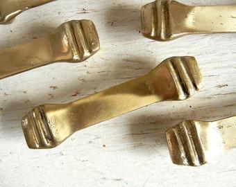 Vintage Brass Drawer Pulls | Handles | Knobs | Brass Hardware | Solid Brass Pulls
