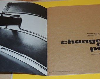 1975 Exhibit Cincinnati Art Museum Contemporary Furniture 1925-75