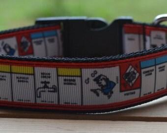 Monopoly dog collar