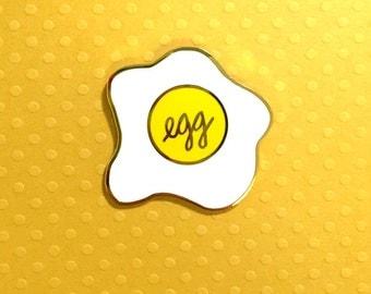 fancy egg - enamel lapel pin