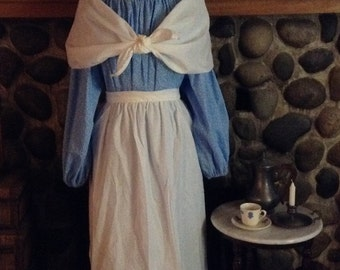 Betsy Ross Costume Womens Colonial Shawl Fichu All sizes Pioneer Prairie