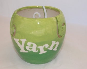Yarn. Yarn Holder. Yarn Bowl. Yarn Storage. Knitting. Crocheting. Crochet. Wool. Fiber. Skein. Holder. Storage. Organizers. Home Decor. Clay