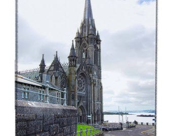 Travel Fine Art Photography Church Ireland - Artistically Enhanced Photography Historic Irish St. Coleman's Cathedral