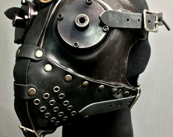 Gas Mask - Slave - Black