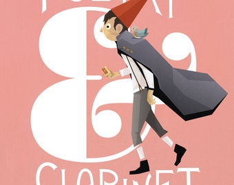 Over The Garden Wall: Wirt Print