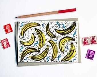 Fruity Banana Card