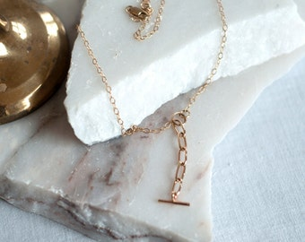 Golden Lariat Necklace