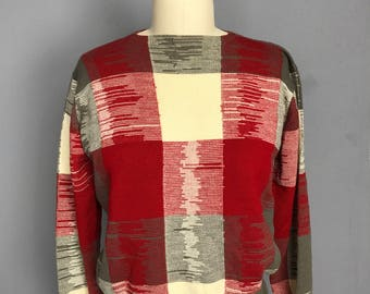 Pendleton Color Block Sweater