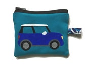 Mini Cooper Coin Purse by SBMathieu