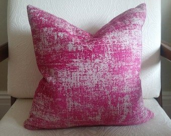 TWEED LINEN/VELVET Pillow Cover 18""