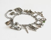 Once Upon a Time Characters Charm Bracelet (OUAT) Stainless Steel Chain