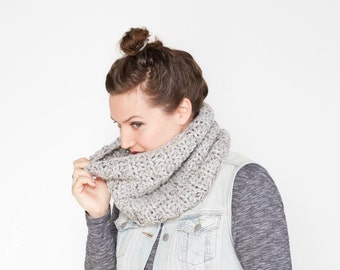 NEW! The Stone Pine Cowl | 22 Color Choices | Cozy Chunky Textured Knit Infinity Cowl Scarf