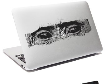 Chimp Eyes Laptop Sticker Decal  5526-Sticker