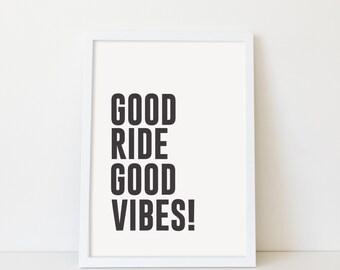 Good Vibes - Poster Print