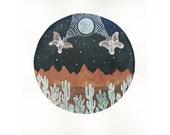 Original Painting-Lunar Symbiosis