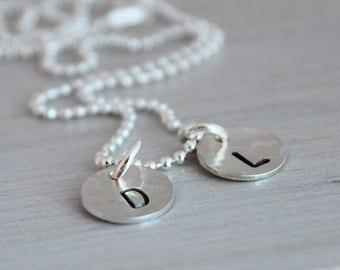 Personalized Necklace Jewelry Gift Initial Necklace Bridesmaid Jewelry Bridesmaid Necklace Gift for Her Jewelry Girlfriend Gifts