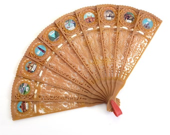 Indian Folding Souvenir Fan