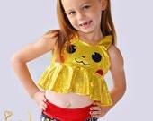 Girls Pokemon Picachu Swim Suit